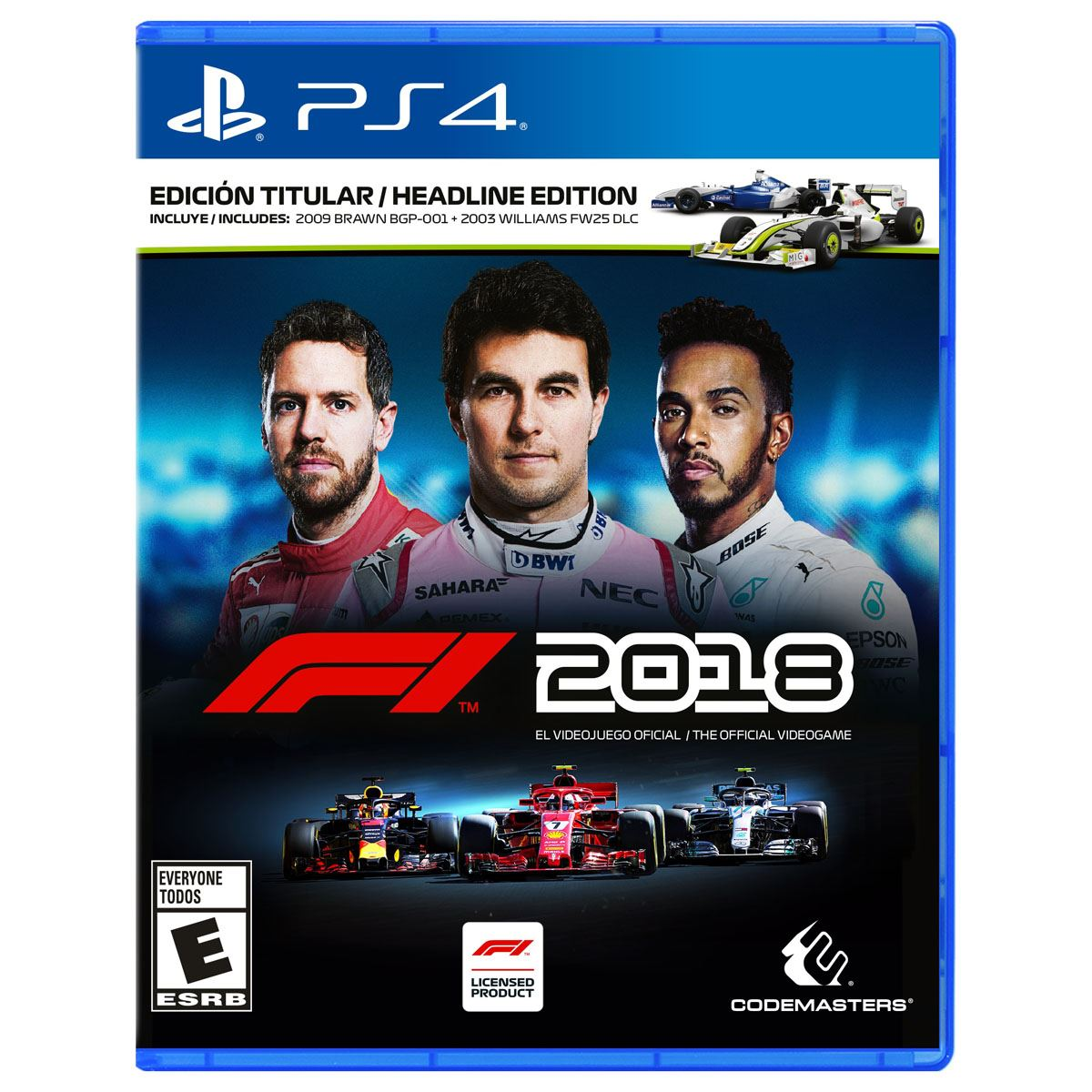 formula 1 2018 ps4 playstation 4. Black Bedroom Furniture Sets. Home Design Ideas